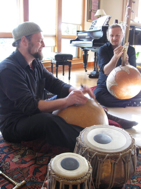 Aharon wheels bolsta with evan fraser calabash tabla ngoni world music kalimba